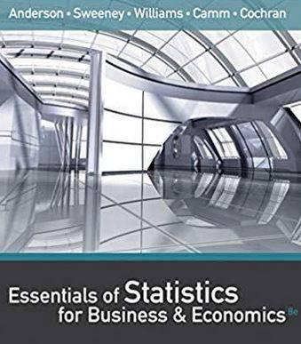 دانلود حل المسائل کتاب آمار برای اقتصاد و تجارت دیوید آندرسون David Anderson