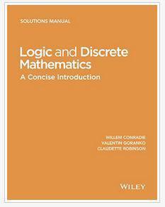 دانلود حل المسائل کتاب منطق و ریاضیات گسسته کونرادی Willem Conradie