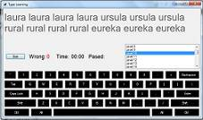 پروژه نرم افزار آموزش تایپ با سی شارپ