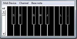 پروژه نرم افزار پیانو با ویژوال بیسیک