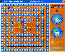 پروژه سورس کد بازی پک من