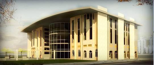 دانلود پروژه رویت REVIT کتابخانه عمومی