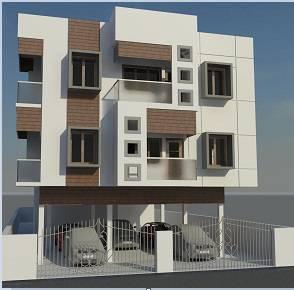 دانلود پروژه رویت REVIT خانه دو طبقه مدرن با پیلوتی