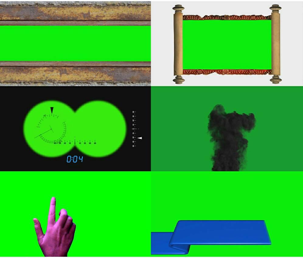 کروماکی و پرده سبز (پک ۱ )