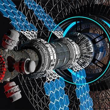 مدلینگ ماهواره (sci fi)