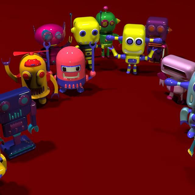 مجموعه ربات های فانتزی