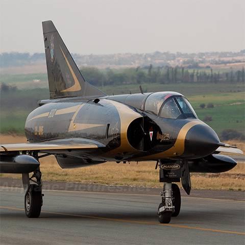مدلینگ جنگنده dassault mirage 3