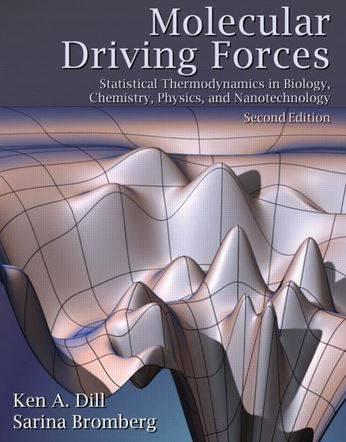 حل المسائل کتاب نیروهای رانشی مولکولی کن دیل و سارینا برومبرگ