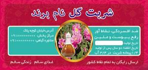 طرح لایه بازلیبل شربت گل(10)