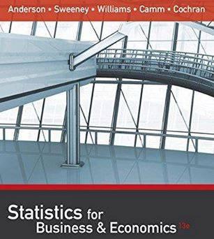 حل المسائل کتاب آمار اقتصاد و تجارت دیوید آندرسون David Anderson