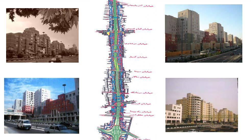 دانلود بررسی طرح منظر شهری نواب جدید