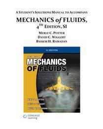 دانلود حل المسائل کتاب مکانیک سیالات مرل پاتر Merle Potter