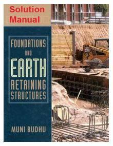 دانلود حل المسائل کتاب پی و سازه های نگهدارنده زمین میونی بودهو Muni Budh