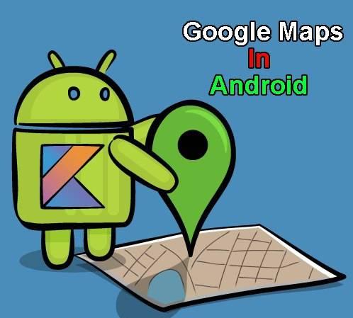 کلیپ های آموزش استفاده از گوگل مپ برای استفاده در برنامه نویسی اندروید