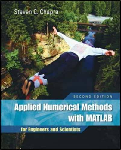 دانلود حل المسائل کتاب محاسبات عددی با نرم افزار متلب استیون چاپرا Steven Chapra