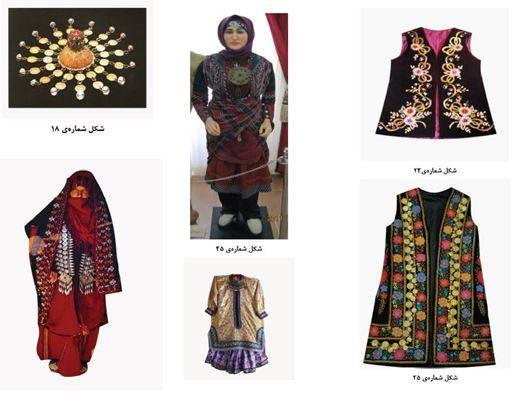 بررسی و مطالعه پوشاک اقوام استان گلستان