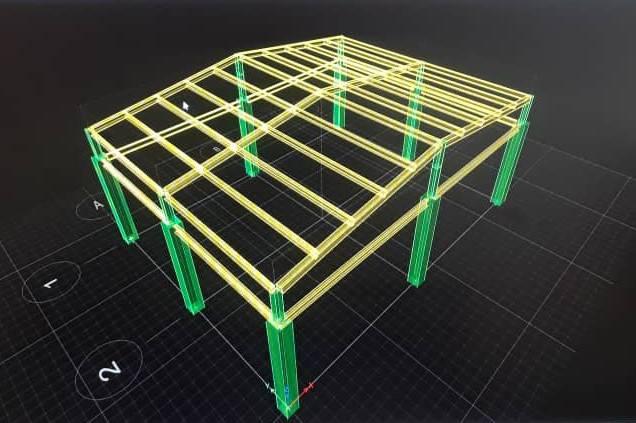 نمونه لیستوفر سقف شیب دار