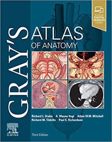 کتاب Grays Atlas of Anatomy 3rd Edition 2021