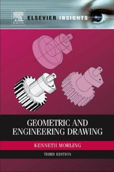 کتاب طراحی هندسی و مهندسی (Geometric and Engineering Drawing)