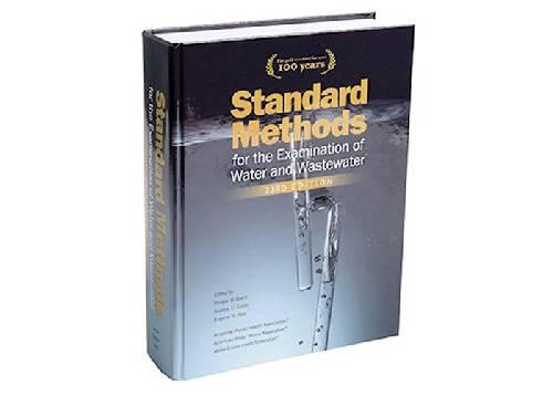 کتاب STANDARD METHODS برای آزمایشات آب و فاضلاب ویرایش ۲۳ سال ۲۰۱۷