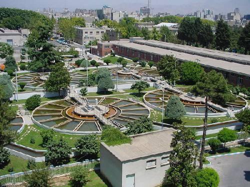 گزارش کار آموزی تصفیه خانه شماره یک آب تهران