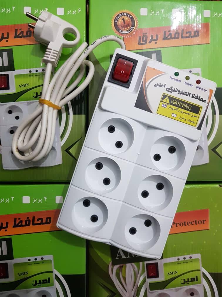 مدار محافظ برق لوازم صوتی و تصویری  به همراهpcb