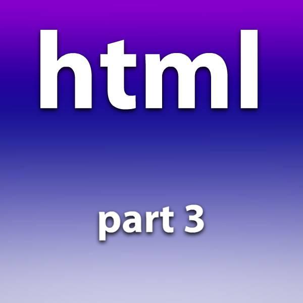 آموزش html قسمت سوم