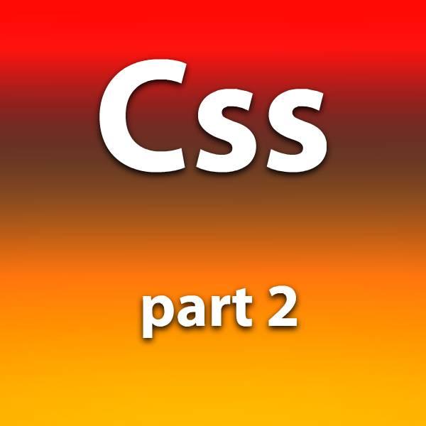 آموزش css قسمت دوم