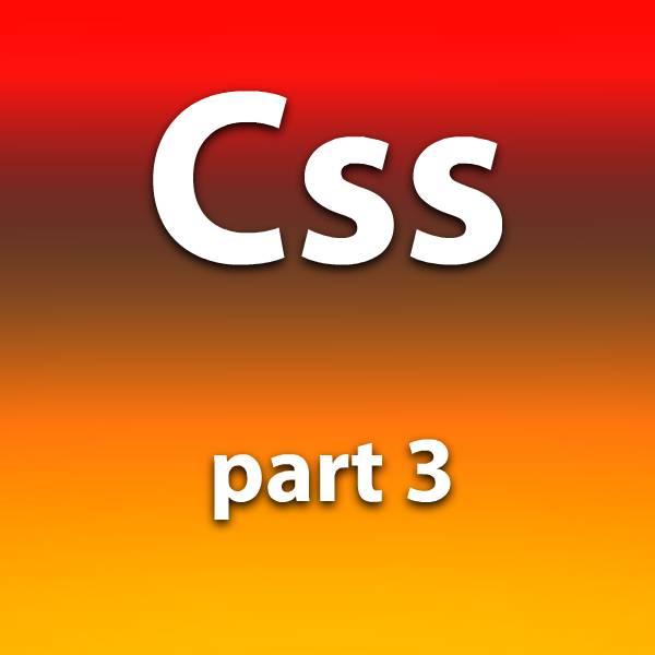آموزش css قسمت سوم