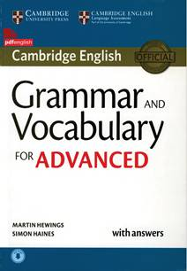 کتاب Grammar and Vocabulary for Advanced