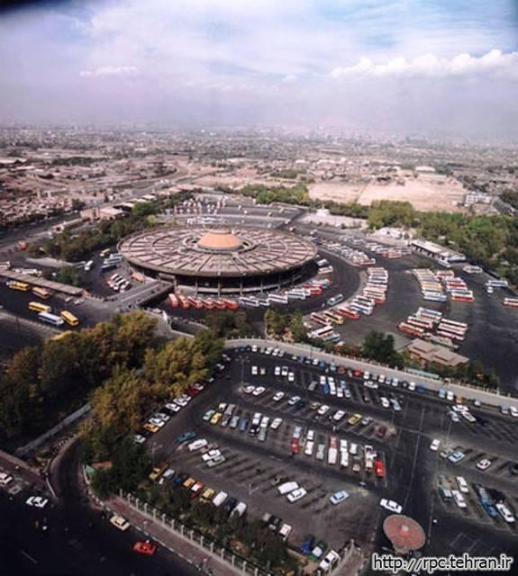 تحلیل پایانه مسافربری جنوب تهران 25 اسلاید