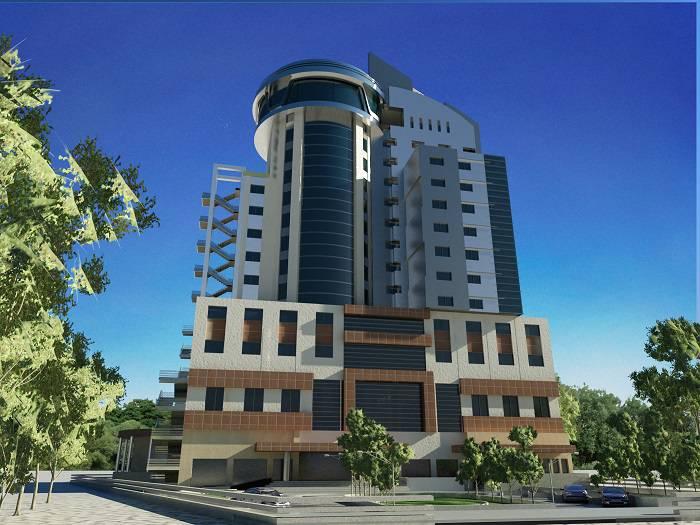 دانلود پروژه هتل 3 ستاره با تری دی