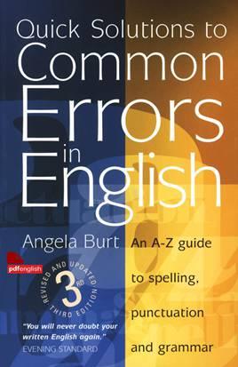 کتاب Quick Solutions to Common Errors in English