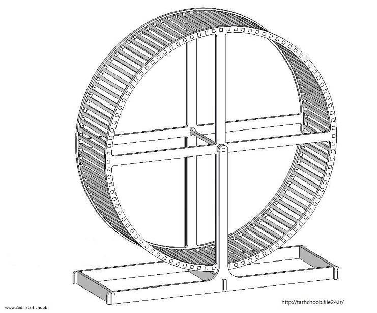 طرح پازل چرخ