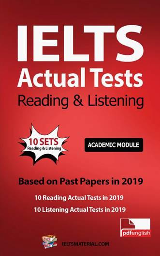 کتاب IELTS Actual Tests Reading & Listening