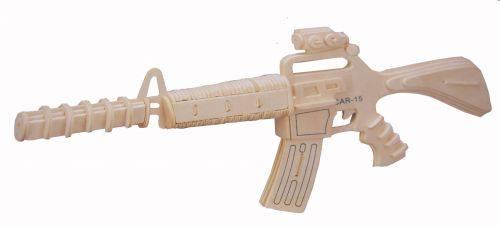 طرح مشبک تفنگ مدل CARBINE 15