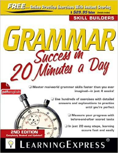 کتاب Grammar Success in 20 Minutes a Day