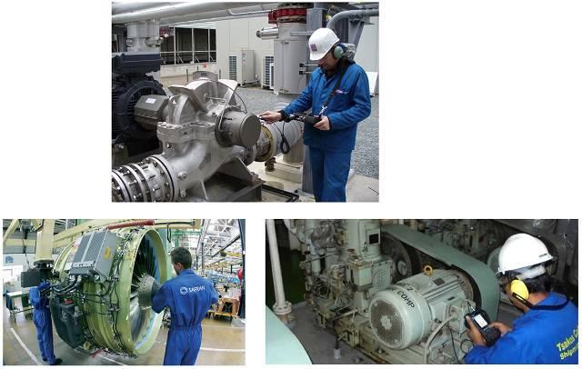 تعمیرات بر اساس شرایط کار ماشین (آنالیز ارتعاشات، آنالیز صوت و آنالیز روغن)
