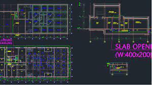 نقشه های معماری اتوکد تصفیه خانه فاضلاب