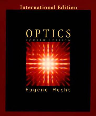 دانلود حل تمرین اپتیک یوجین حچت Eugene Hecht Optics