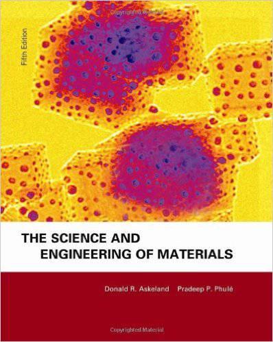 دانلود حل تمرین کتاب علم مواد دونالد اسکلند Donald Askeland