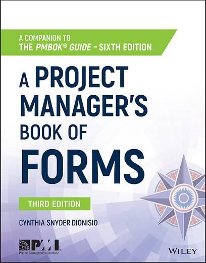 کتاب فرم های مدیریت پروژه بر اساس استاندارد PMBOK