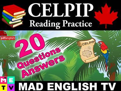 کتاب CELPIP Reading Practice