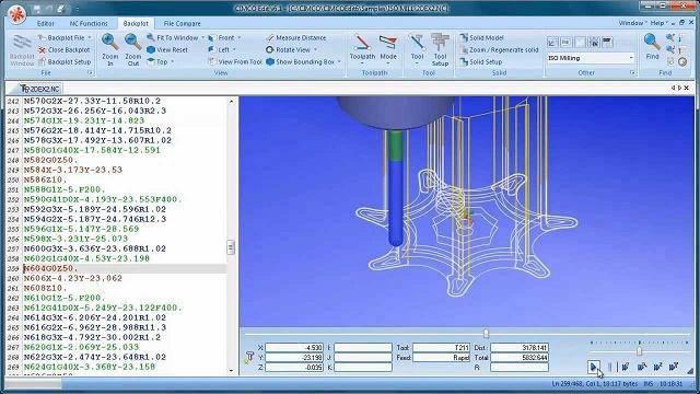 نرم افزار ویرایشگر حرفه ای برنامه های سی ان سی CNC CIMCO Edit