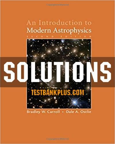 حل المسائل کتاب اخترفیزیک مدرن بردلی کارول Bradley Carroll