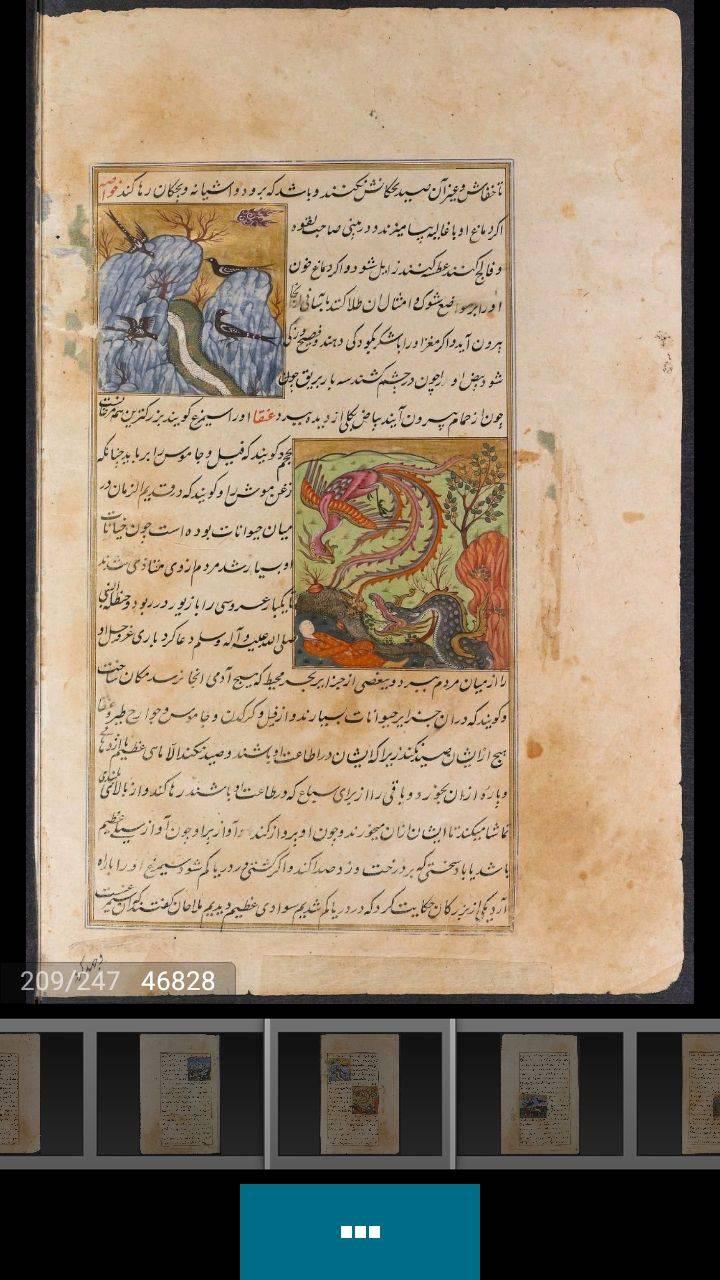 کتاب عجائب المخلوقات و غرائب الموجودات،کتاب خطی عجائب المخلوقات و غرائب