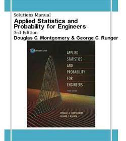 دانلود حل المسائل آمار و احتمال مهندسی مونتگومری Douglas Montgomery