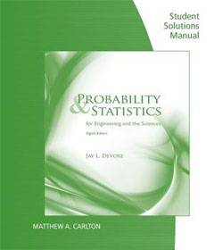 حل المسائل آمار و احتمال مهندسی جی دوور  Jay Devore