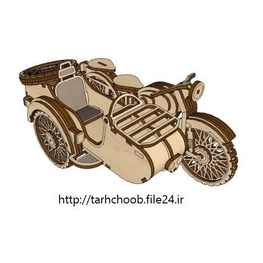 طرح موتور سیکلت اورال 2
